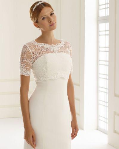 Clarrisa Lace Wedding Bolero, Bridal Jacket